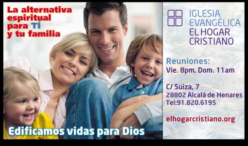 EL HOGAR CRISTIANO EN ALCALÁ DE HENARES. VISÍTANOS!!